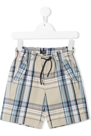 Il gufo Niño Bermudas - Shorts con motivo de cuadros