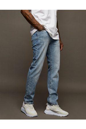 Topman Straight jeans in light wash