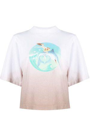 Palm Angels Camiseta Fishing Club