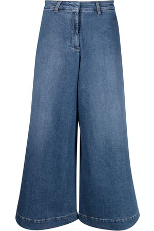 L'Autre Chose Jeans capri anchos