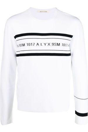 1017 ALYX 9SM Suéter con franja del logo