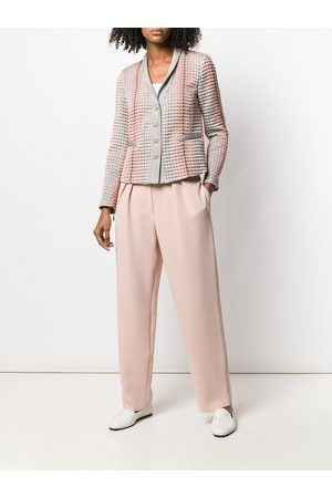 Emporio Armani Pantalones con detalle de pliegues