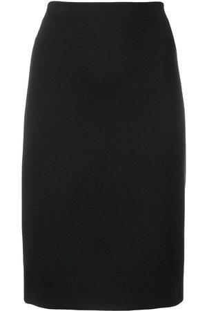 Emporio Armani Mujer Midi - Falda midi básica