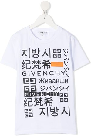 Givenchy Playera con logo estampado