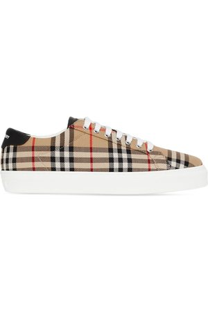 Burberry Vintage Check low-top sneakers