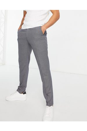 ASOS Slim suit trouser in grey birdseye