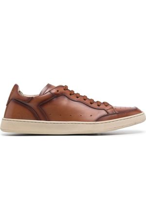 Officine creative Kareem leather low-top sneakers
