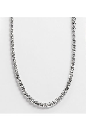 Reclaimed Inspired chain necklace in silver