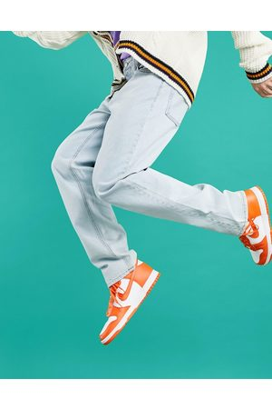 ASOS Hombre Rectos - Straight leg jeans in pale blue