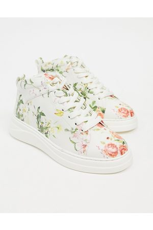 Fiorelli Mujer Tenis - Pippa high top trainer in floral