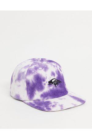 Quiksilver OG Cord tie dye cap in purple