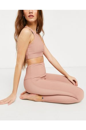 Onzie High waisted ribbed leggings in