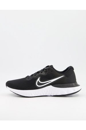 Nike Hombre Tenis - Renew Run 2 trainers in black and white