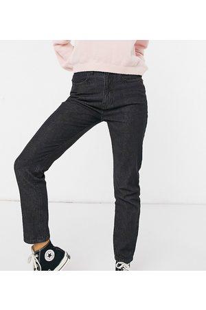 Daisy Street Mom jeans in black wash denim