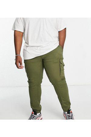 Jack & Jones Intelligence cargo trouser in khaki