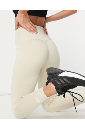 HIIT Ruched leggings in stone