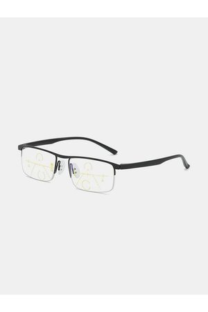 Newchic Unisex Light Multi-focus Anti-blue Light Anti-fatigue Flexible Vogue Computadora Lectura cuadrada Gafas