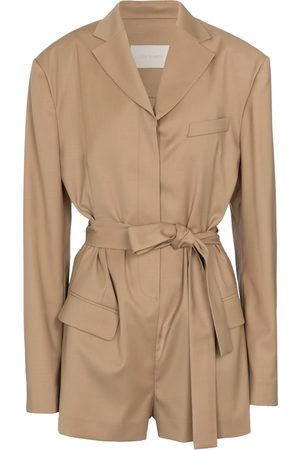 Low Classic Mujer Cortos - Belted playsuit