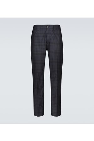 Burberry Checked casual pants