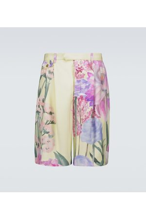 King and Tuckfield Hombre Shorts - Floral printed shorts