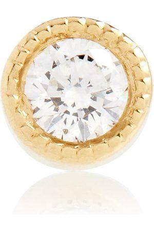 Maria Tash 18kt gold and diamond earring
