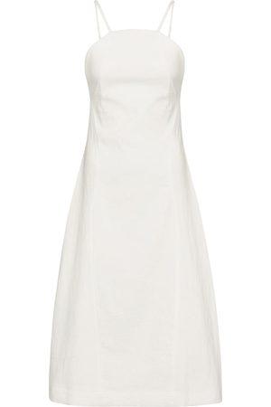 Low Classic Cotton-blend midi dress