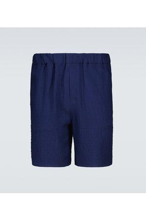 Ami Hombre Bermudas - Crêpe Bermuda shorts