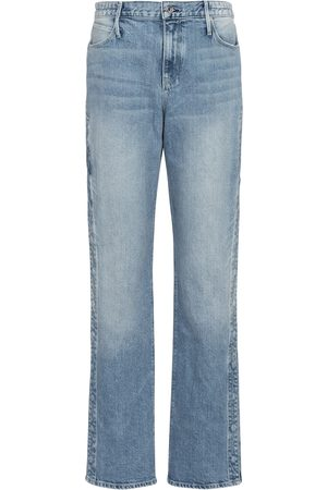 RTA Mujer Rectos - Michael high-rise straight jeans