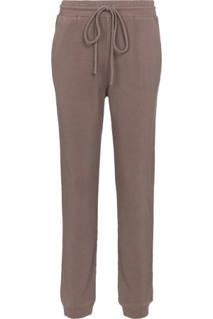 Lanston Mujer Joggers - Cotton-blend terry sweatpants