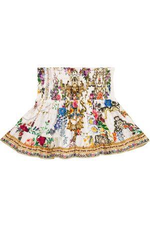 Camilla Mujer Estampadas - Floral cotton jersey skirt