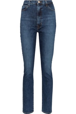 J Brand Mujer Rectos - 1212 Runway high-rise straight jeans