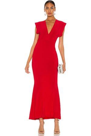 Norma Kamali Vestido en color talla L en - Red. Talla L (también en XS, S, M).