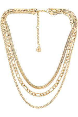 8 Other Reasons Collar electric feel en color oro metálico talla all en - Metallic Gold. Talla all.