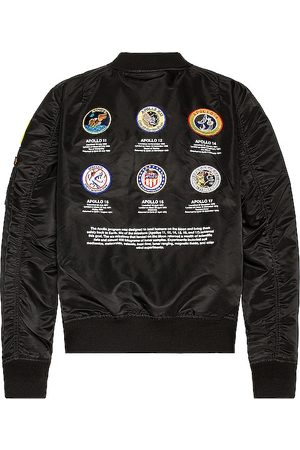Alpha Industries Chaqueta l-2b apollo ii en color talla L en - Black. Talla L (también en XS, S, M, XL).