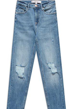 Miss Selfridge Boyfriend jean in mid wash blue