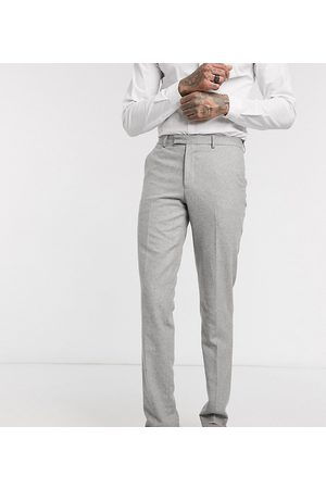 Harry Brown Tall slim fit wedding summer tweed suit trouser