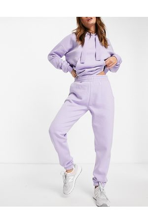 Chelsea Peers Eco jersey lounge joggers in lilac