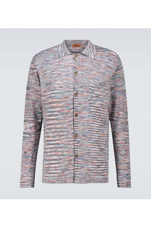 Missoni Hombre Camisas - Long-sleeved striped shirt