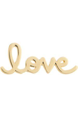 Sydney Evan Love 14kt gold stud earrings