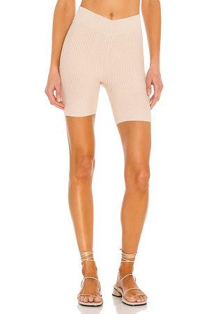 Lovers + Friends Shorts de ciclista v waist en color talla L en - . Talla L (también en XXS, XS, S, M, XL).