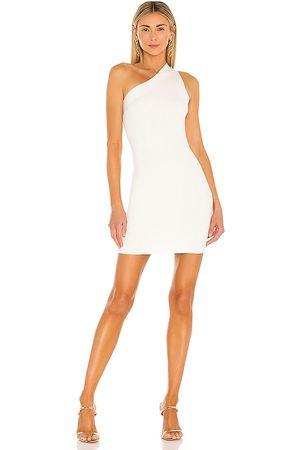 NBD Vestido un hombro solstice en color talla L en - White. Talla L (también en XXS, XS, S, M, XL).