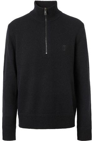 Burberry Suéter con logo bordado