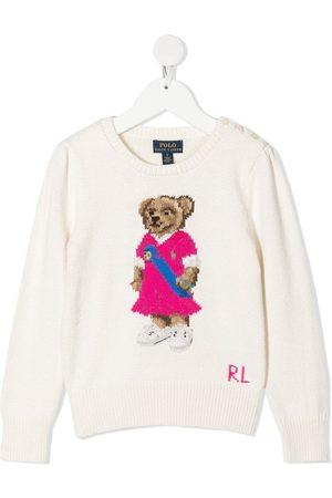 Ralph Lauren Suéter con motivo Polo Bear