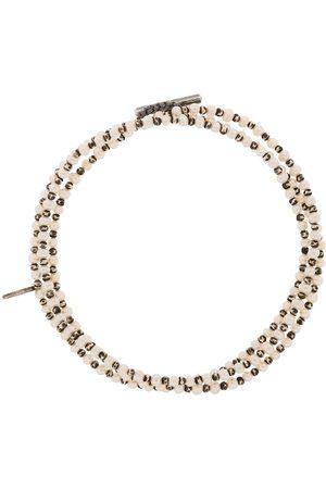 M. COHEN Pulsera The Agora en plata de ley con perlas