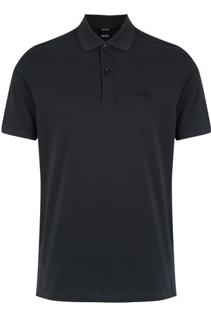 HUGO BOSS Playera tipo polo de tejido fino
