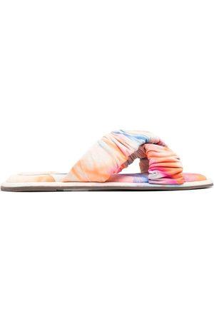 Schutz Sandalias con motivo tie-dye