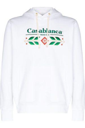 Casablanca Sudadera Laurel con logo bordado