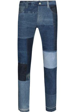 Children Of The Discordance Jeans rectos con diseño patchwork