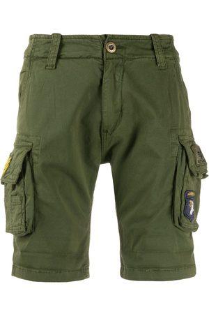 Alpha Industries Bermudas estilo cargo con varios bolsillos