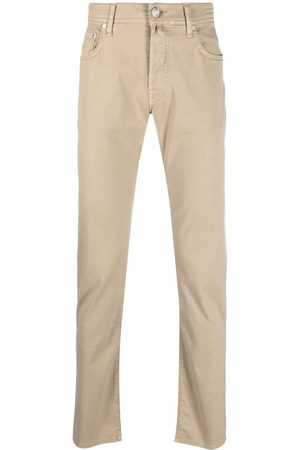 Jacob Cohen Pantalones chino de tiro bajo